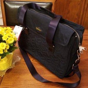 🆕️Kipling superwork bag ,quilted , navy blue